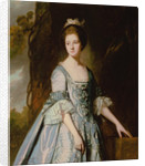 Portrait of Mary Corrance by George Romney