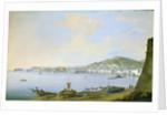 View of Naples by Saviero Xavier della Gatta