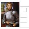 Portrait of a Man in Armour by Piero di Cosimo