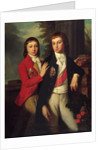 Portrait of Grand Prince August of Oldenburg and Prince Georg of Oldenburg by Anonymous