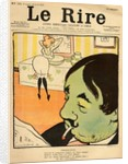 Humorous cartoon from the front cover of 'Le Rire', 22nd April 1899 by Lucien Metivet