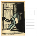 A man caught putting up political posters is thrown in prison by Felix Edouard Vallotton