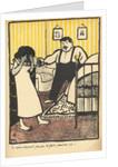 A man reproaches his pregnant mistress by Felix Edouard Vallotton