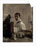 Self Portrait by Henri de Toulouse-Lautrec