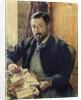 Portrait of Thomas Lemas by Paul Merwart