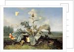 The Burdock Bush by Otto Marseus van Schrieck