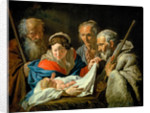 Adoration of the Infant Jesus by Matthias Stomer