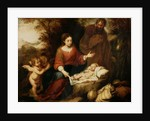 The Rest on the Flight into Egypt by Bartolome Esteban Murillo