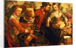 At the Market by Joachim Beuckelaer or Bueckelaer