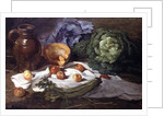 Still Life with Cabbages by Armand-Desire Gautier