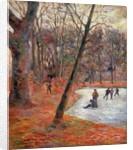 Skaters in Frederiksberg Park, 1884 by Paul Gauguin