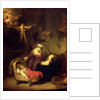 The Holy Family by Rembrandt Harmensz. van Rijn