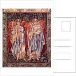 Angeli Laudantes, tapestry designed by Henry Dearle with figures by Edward Burne-Jones originally drawn in 1877/78, woven at Merton Abbey in 1894 by Morris and Co. by Anonymous