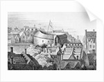 The First Globe Theatre or Rose Theatre by English School