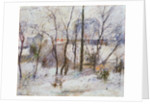 Garden under Snow by Paul Gauguin