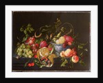 A Still Life of Fruit by Cornelis de Heem