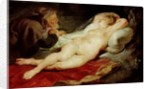 The Hermit and the sleeping Angelica by Peter Paul Rubens