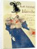 Cover of La Revue Blanche by Henri de Toulouse-Lautrec