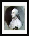 Portrait of George Pitt, 1st Baron Rivers by Thomas Gainsborough