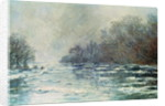 The Break up at Vetheuil by Claude Monet