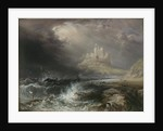 Bamburgh Castle, Northumberland by William Andrews Nesfield