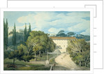 The Convent of St. Eufebio, near Naples by Francis Towne