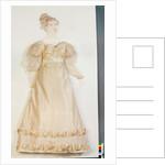 Wedding dress by English School