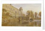 Warwick Castle from the Avon by George Arthur Fripp