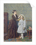 Her First Communion by George Goodwin Kilburne