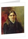 Portrait of Pelageya Antipovna Strepetova by Ilya Efimovich Repin