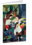 The Turkish Jeweller by August Macke