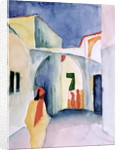 A Glance Down an Alley by August Macke