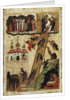 Heavenly ladder of St. John Climacus by Russian School