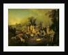 Gypsy Encampment by Jean Antoine Watteau