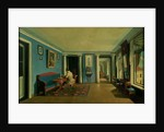 Indoors. Drawing Room with Columned Entresol by Kapiton Alekseevich Zelentsov