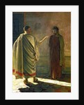 What is Truth? (Christ and Pilate) by Nikolai Nikolaevich Ge