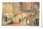 A Ball at the Town Hall by Eugene-Louis Lami