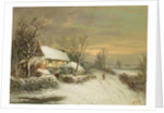 A Cottage in Winter by William Oliver Stone