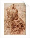 Study of Sibyl by Michelangelo Buonarroti