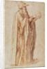 Study of a Man by Michelangelo Buonarroti