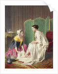 Maid Washing her Mistress' Feet by Anonymous