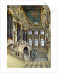 Staircase of the Winter Palace by Konstantin Andreyevich Ukhtomsky