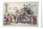 A swarm of English bees hiving in the Imperial Carriage!! - Who would have thought it?? by George Cruikshank