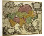 Map of Asia, Nuremberg by Johann Baptista Homann
