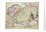 Map of Asia Minor showing Norway, Sweden, Denmark, Lapland, Poland, Turkey, Russia and the Moscow region by Nicolaes Jansz Visscher