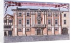 Thanet House in Aldersgate Street by Robert Morden