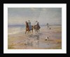 A Ride on the Beach, Dublin by Heywood Hardy