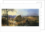 Aborigines in an Australian Landscape by George Rowe