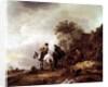 Landscape with Riders by Adriaen Jansz. van Ostade