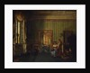 Interior in the House of Prince Alexander Golitsyn in Rome by Silvestr Fedosievich Shchedrin